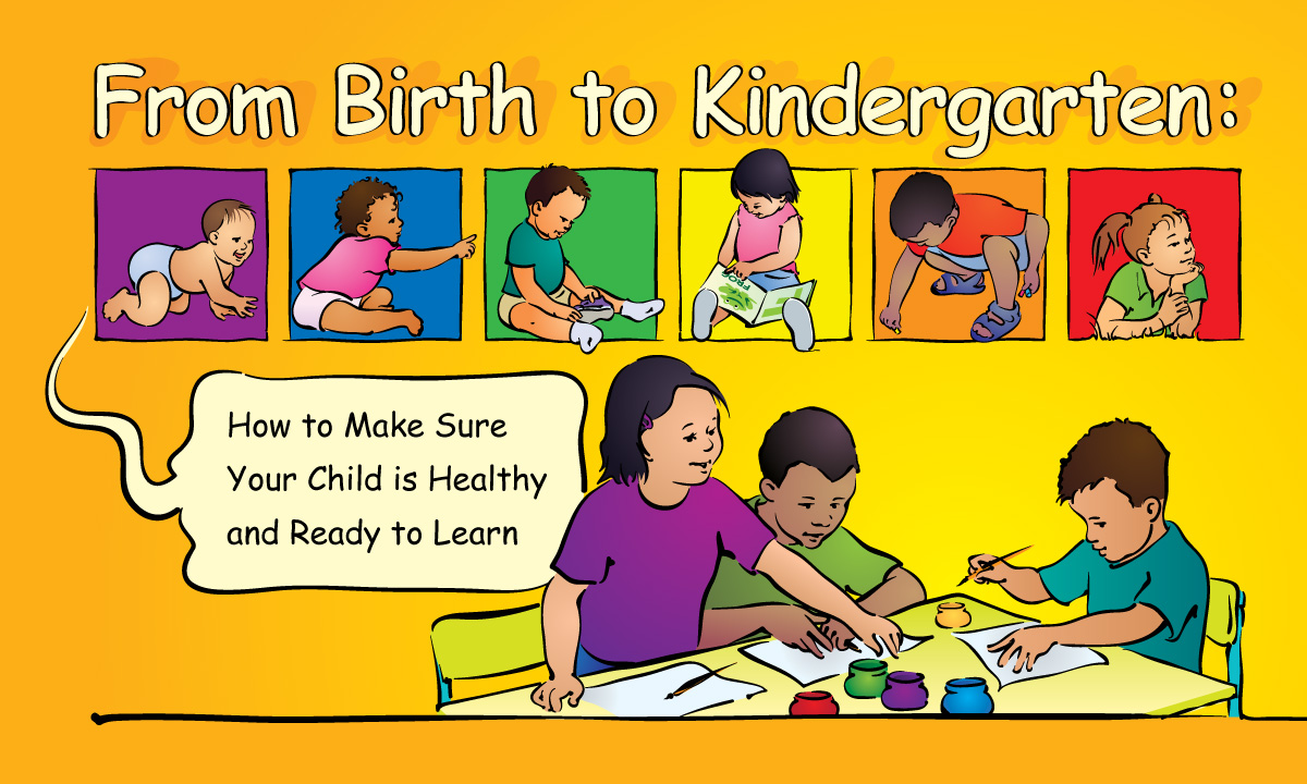Birth to Kindergarten Illustrated Booklet