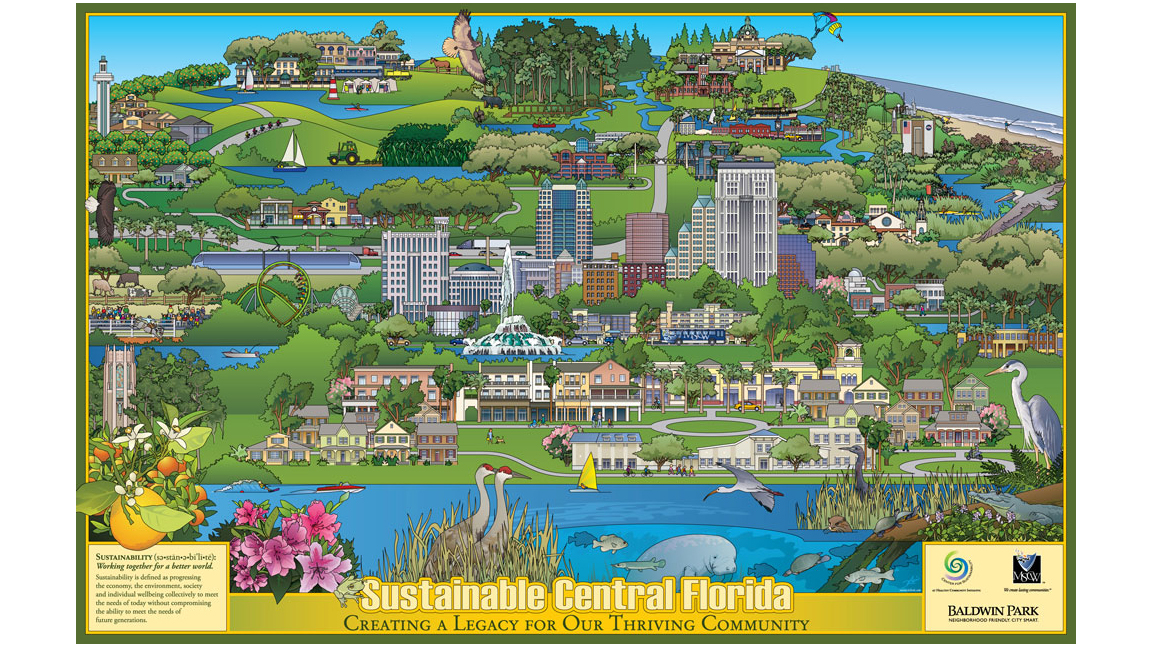 Sustainable Central Florida Poster